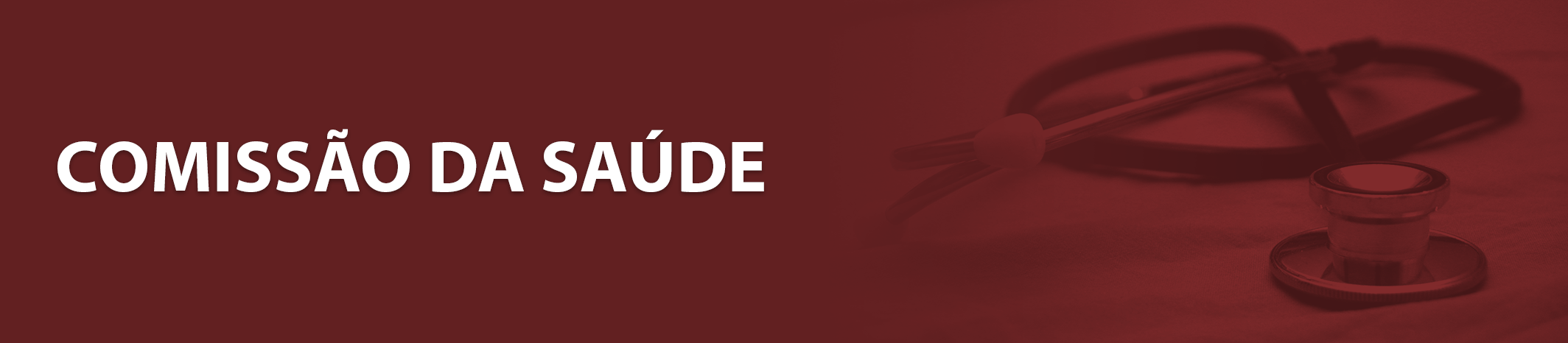 Banner Comissao da Saude
