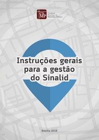 Instruções gerais para a gestão do Sinalid