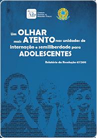 Unidades de internação e semiliberdade para adolescentes (Res. 67) (2015)