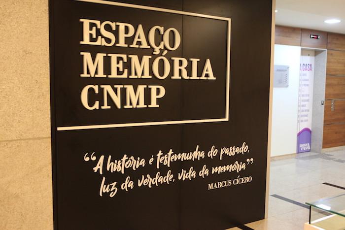 Inauguração do Espaço Memória do CNMP