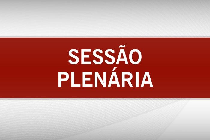 Banner Sessão do Plenário