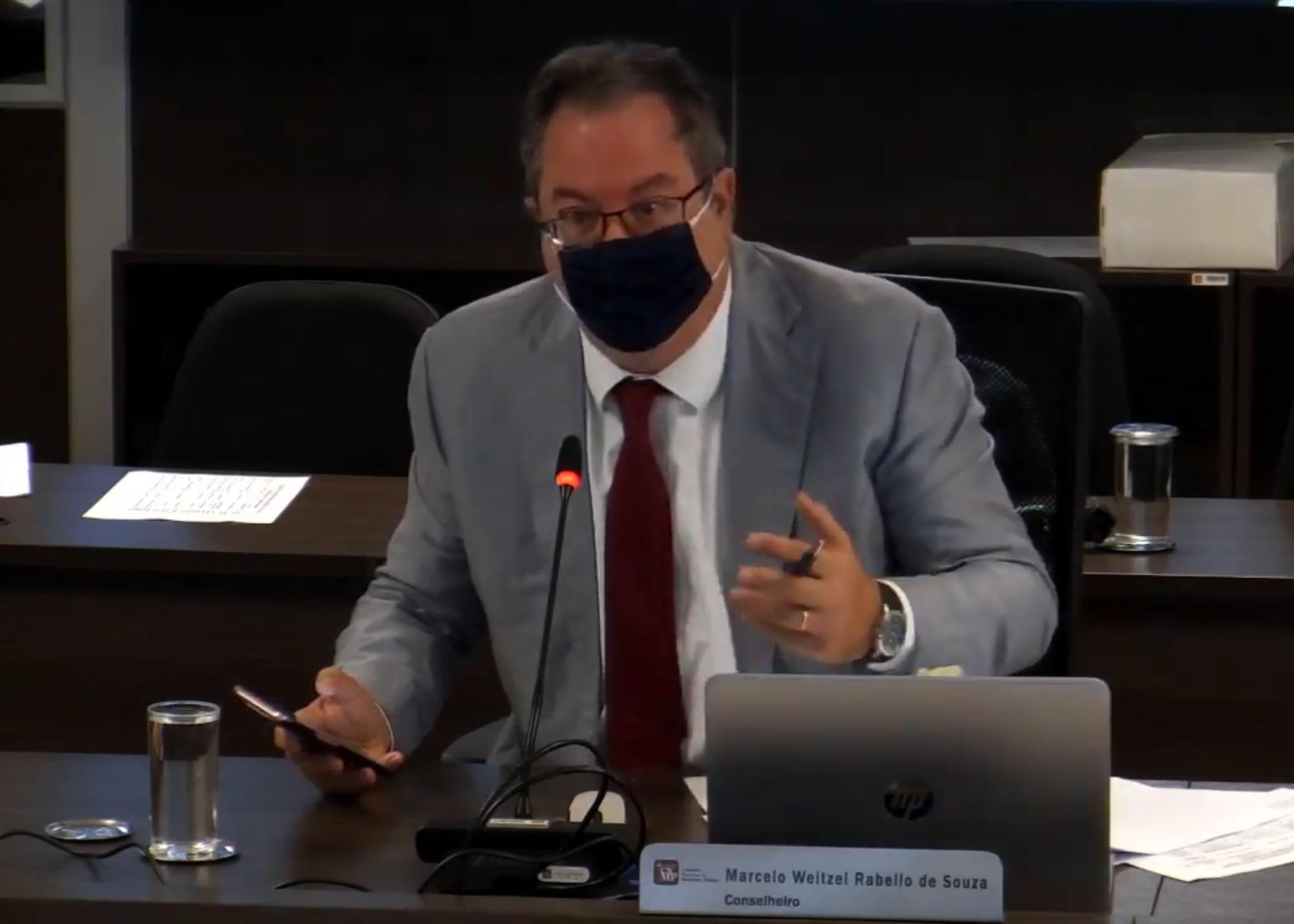 Conselheiro Marcelo Weitzel