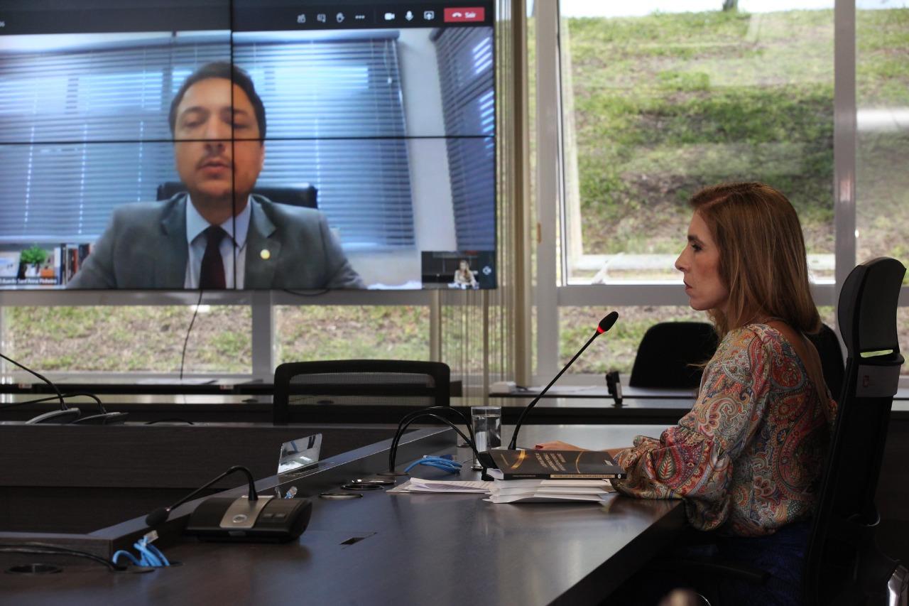 Fernanda Marinela e Luiz Eduardo Sant'Anna