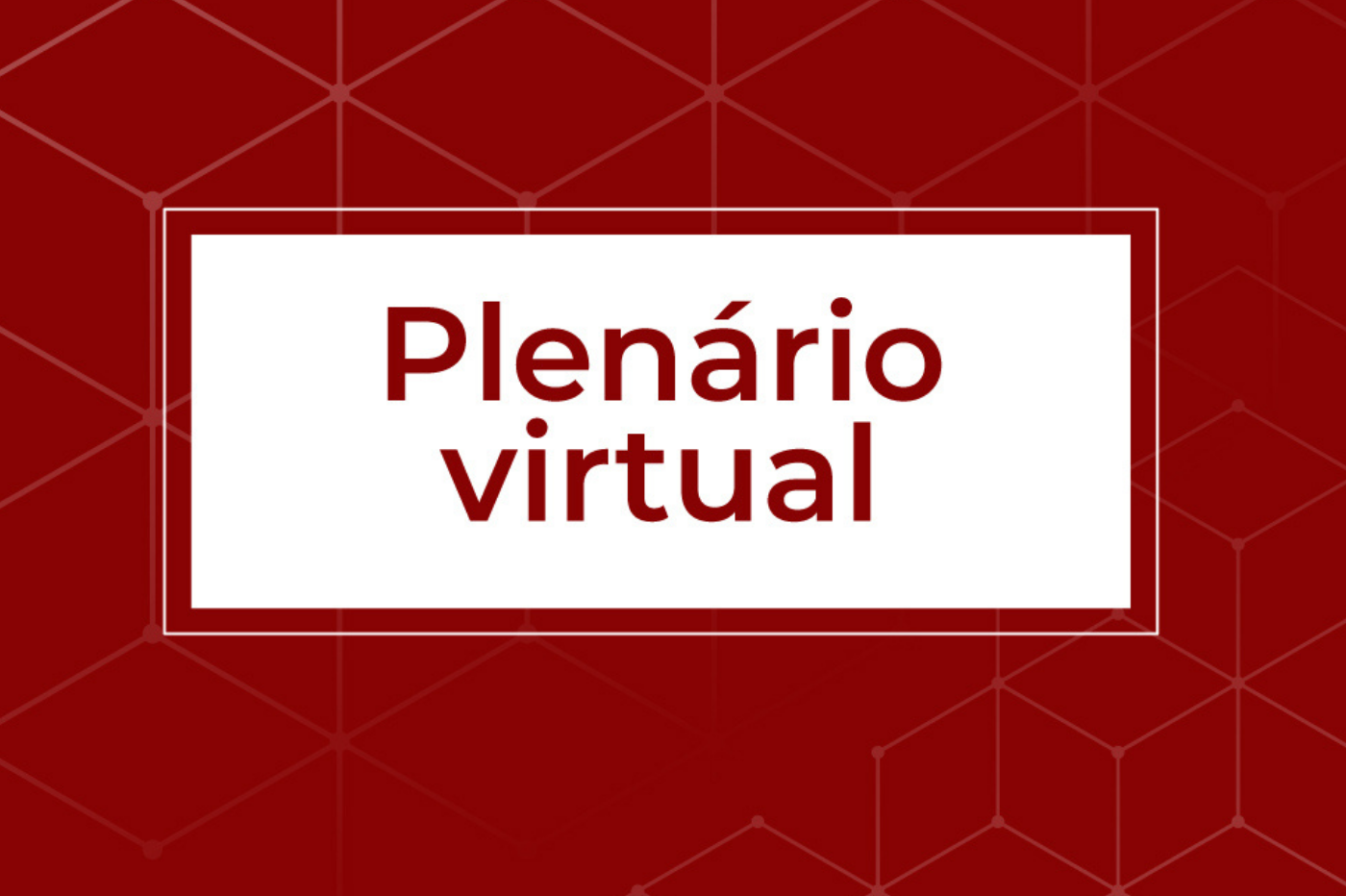 banner noticia plenario virtual