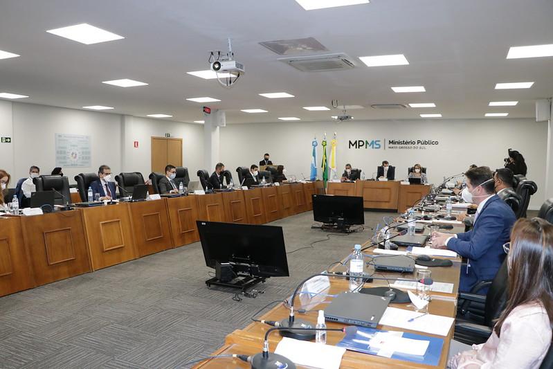 Foto da sala onde foi realizado evento sobre LGPD